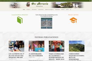 Portal Web del IES Serranía de Alozaina.