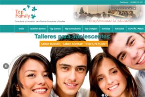 Top Family - Consultaría para Centros Educativos y Familias