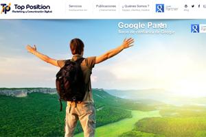 Top Position Screen - Desarrollado por Pablo Blanco