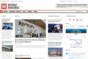Portal Web Noticias Bancarias